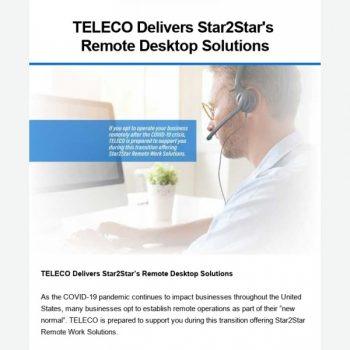 Teleco Delivers Star2star's Remote Desktop Solutions