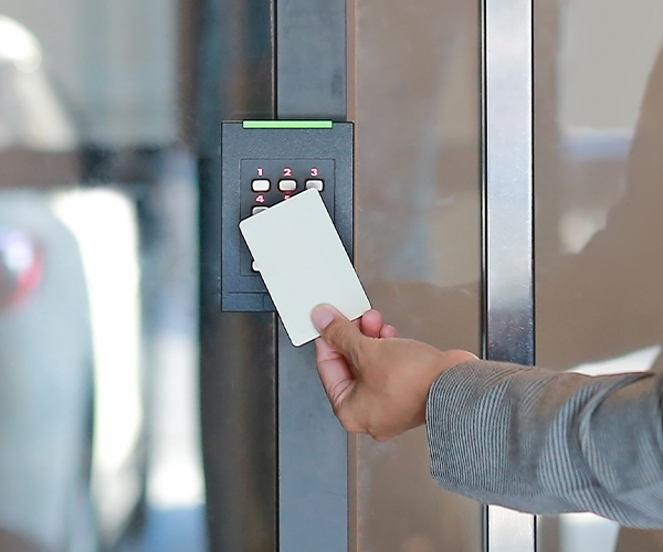 Touch-less Door Access Control