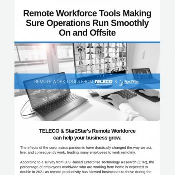 Teleco & Star2star's Remote Workforce Can Help Your Business Grow