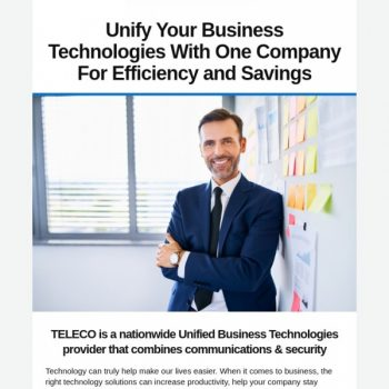Unified Business Technologies To Help Your Business Grow