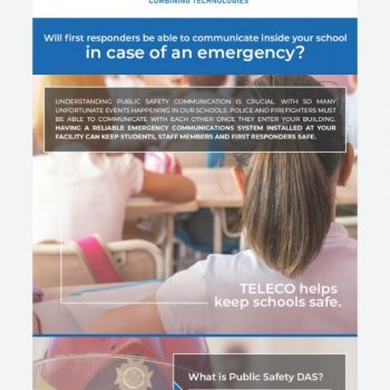 Keeping Schools Safe With Teleco Public Safety Das
